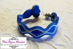 Soutache Bracelet - by Miss Bijoux Claudine - 2015