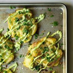 crispysmashedpotatoessquare 16281 256x256   Crispy Smashed Potatoes with Avocado Garlic Aioli
