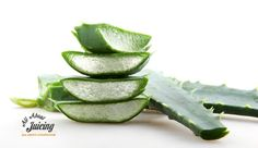 Learn about the benefits of aloe vera juice + how to juice it yourself. www.all-about-juicing.com
