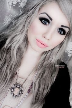 Silver blonde toned hair