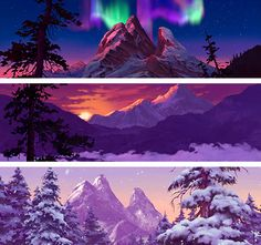 french-zombie:  Top 5 - disney scenery → 1. Brother Bear   Brother Bear - Backgrounds