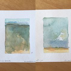 New from Elissa Sue Watercolors