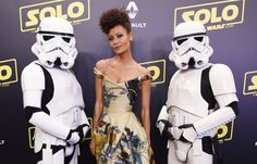 Thandie Newton's Unique Star Wars Dress Has Us In Awe
