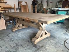 Farmhouse table plans Examples of Tables Finished in Salvaged Natural Farmhouse Dining Room Table, Farmhouse Kitchen Tables, Dinning Room Tables, Trestle Dining Tables, Dining Table In Kitchen, Wood Tables, Side Tables, Country Dining Tables, Bar Tables