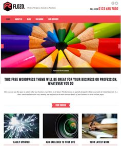 Download this FREE WordPress theme today!—This media-rich WordPress theme looks ideal for promoting your design work and personal brand - and it won't cost you a penny.