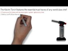 BEST Cooking torch