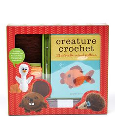 Creature Crochet Set -12 amigurumi  patterns