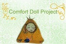 Comfort Doll Project--Sewing for a worthy cause. These handmade dolls are given to women in domestic violence shelters along with a note of encouragement.