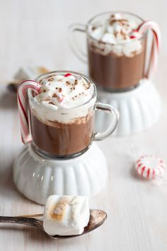 Mini Peppermint Hot Chocolate