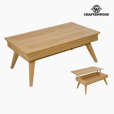 #Höhenverstellbarer #Couchtisch #Mindiholz (110 x 65 x 44 cm) #Wohnzimmer #Einrichtung #Möbel #Tisch #Holz #Mindi Dining Bench, Tables, Furniture, Design, Home Decor, Self, Table And Chairs, Mesas, Household Items
