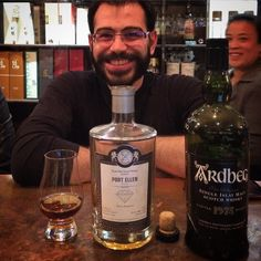 When a man wants to celebrate you give him the best. #portellen #ardbeg