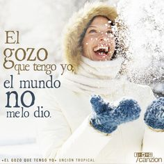 ¡El gozo que tengo me lo dio Dios! Canta con Uncion Tropical y su nuevo tema #ElGozoQueTengoYo. #SaltaEnElRío #Merengue ➜ http://canzion.com/es/noticias/648-uncion-tropical-presenta-el-gozo-que-tengo-yo