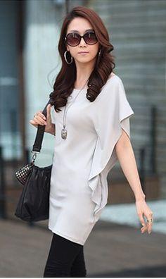 http://www.tokogauloe.com/dress-cewek-korea-k1321-gray/ Deskripsi : DRESS - K1321 Gray Material : Spandex Length : 80CM Bust : 78-90CM Color : Gray Stock : 5 Pcs