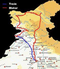 India Kashmir Motorreis - Motor Trails - Avontuurlijke Motorreizen