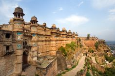 12 Top Palaces and Forts to Explore Historical India: Gwalior Fort, Madhya Pradesh Star Fort, Audley Travel, Ancient Greek Architecture, Gothic Architecture, North India, Grand Mosque, Mayan Ruins, Times Of India, Angkor Wat