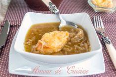la soupe a l'oignon - Amour de cuisine