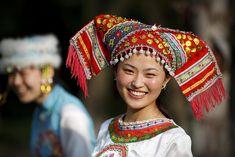 Zhuang Minority Girl, China