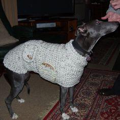 Whippet Sweater  Whippet Pullover  Whippet от CTDESIGNSBESPOKEBAGS