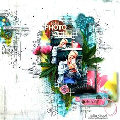 """Layout by More Than Words DT member Julia Kissel inspired by the January """"Personality"""" & """"Selfie"""" Main Challenge. More details at http://morethanwordschallenge.blogspot.ca/2016/01/january-main-challenge-personality.html  #morethanwords #mtwchallenge #morethanwordschallenges #mtw"""
