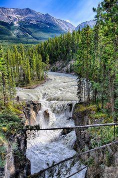 Sunwapta Falls - Alberta, Canada