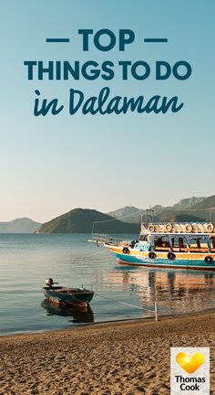 Lay back on unspoilt beaches or relax in a natural mud bath - See why you Dalaman is the perfect holiday destination for you.