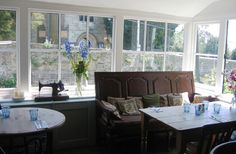 horse guards inn - tillington near Petworth. Lovely food and an amazing setting.