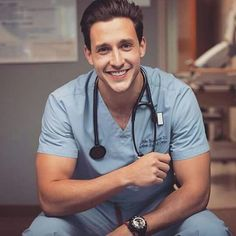 Maybe today you'll be the first lady of Elite doctor. Perhaps an Elite doctor is a white man in love. No experience. But Elite doctor has a simple heart for love. Doctor Mike, Dr Mike Varshavski, Hot Doctor, Male Doctor, Male Nurse, Hommes Sexy, Medical Scrubs, Men In Uniform, Handsome Boys