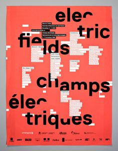 xavier coulombe-murray, 2012 // electric fields poster