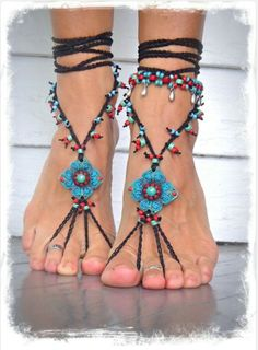 Barefoot sandals - Etsy