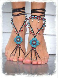 Barefoot sandals - Etsy