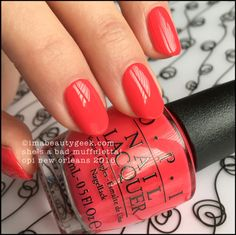 OPI She's a Bad Muffuletta! – OPI New Orleans Collection