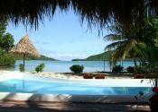 View from the pool at #NavatuStarsFiji #YasawaIslands #Fiji