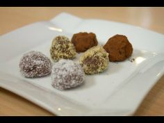 Trufas de chocolate con licor receta original