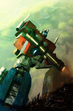 Optimus Prime - Livio27.deviantart.com