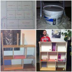 image Magazine Rack, Bookcase, Miniatures, Shelves, Dolls, Storage, Image, Furniture, Home Decor