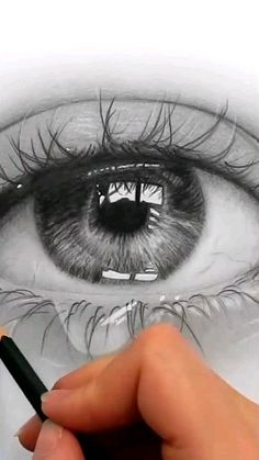 Amazing Drawing Art That looks Soo Real - realistic drawings Beautiful Pencil Drawings, Art Drawings Sketches Simple, Pencil Art Drawings, Realistic Drawings, Eye Pencil Sketch, Amazing Drawings, Eye Drawing Tutorials, Art Tutorials, Drawing Techniques