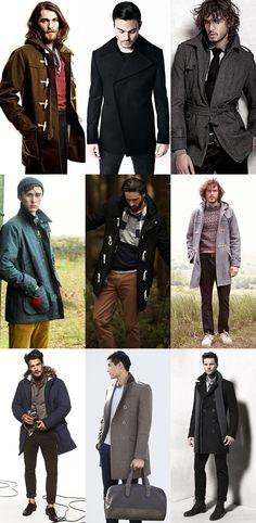 Men's Winter Coats Lookbook ... ¡Great alternatives!