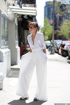 Picked Color: All-White Outfit Inspirations  http://www.ferbena.com/picked-color-white-outfit-inspirations.html