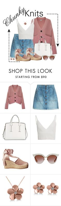 """Sweetly, Chunky Knits"" by lulu15emma ❤ liked on Polyvore featuring Moncler, Current/Elliott, French Connection, Zeynep Arçay, Tory Burch, Gucci, Allurez and chunkyknits"