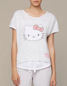 Hello kitty top - oysho