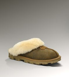 UGG® Coquette Bomber for Women | Sheepskin Cuffed Slippers at UGGAustralia.com    Comfy as hell!!! Love them!