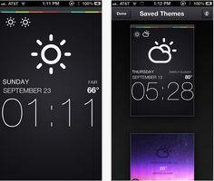Clock Builder este aplicatia din App Store care impreuna cu un tema din Cydia te ajuta sa-ti faci teme pentru LockScreen