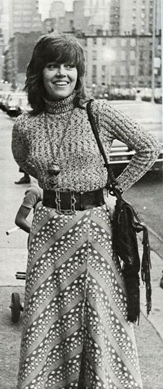 Jane Fonda as Bree Daniel in 'Klute' (1971). Costume Designer: Ann Roth   ---   image via @Maria Pateraki Krinsley
