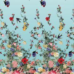vuelta - multicolor fabric uit de eerste stoffencollectie van Christian Lacroix.