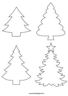 Printable Christmas TreeChristmas AngelChristmas Angel ShapeSanta