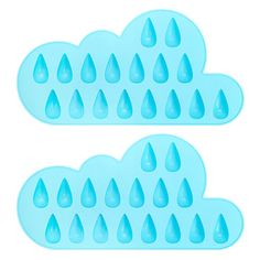 Raindrop ice trays