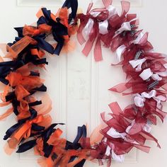 Our house divided wreath