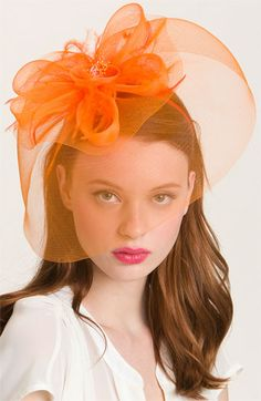Tasha 'Derby' Fascinator Headband | Nordstrom If the Queen ever invites me anywhere, this is what I'm wearing!