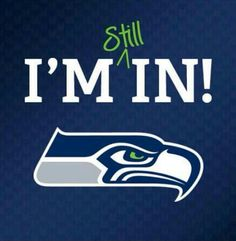 They were wonderful in Superbowl XLIX!   And yes I'm STILL in! pinned 2.2.2015