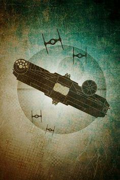 Star Wars - the Falcon